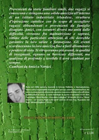 AMICO,NEMICO quarta copertina